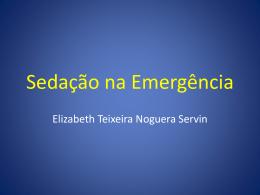 Sedação na Emergência