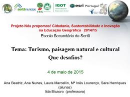 ESS_11D_Turismo, paisagem natural e cultural