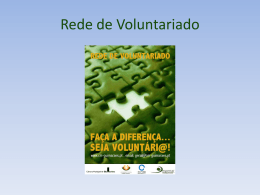 Rede de Voluntariádo