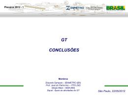 Apresentação GT Novas Demandas