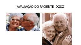avaliação do idoso