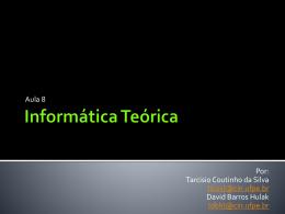 Informática Teórica - Centro de Informática da UFPE