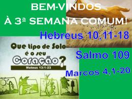 salmo responsorial: (109)
