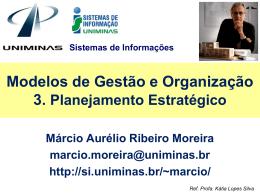 3. Planejamento e Administração Estratégica
