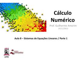 O que é Cálculo Numérico?