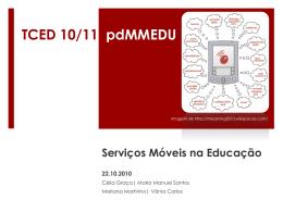 Serviços Móveis na Educação…