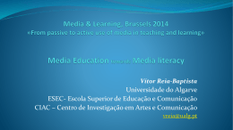 Media Education towards Media literacy