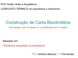 carta bioclimática