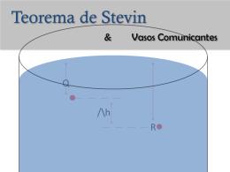 Teorema de Stevin & Vasos Comunicantes