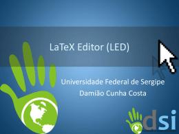 LaTeX Editor (LED)