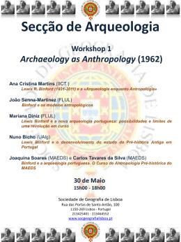 Diapositivo 1 - Sociedade de Geografia de Lisboa
