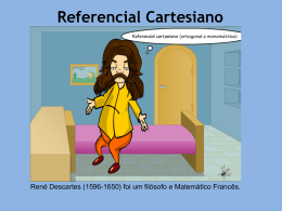 Referencial Cartesiano