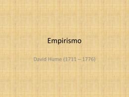 Empirismo - David Hume