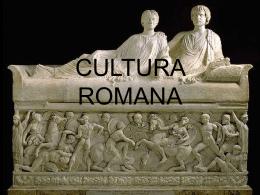 CULTURA ROMANA - Colegio Ideal