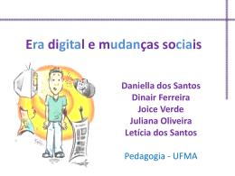 Era digital e mudanças sociais - Uso das redes sociais no ambiente