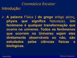 Marcio Cinemática 2013