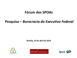 Survey Burocracia - Forum SPOAS - 24 04 2014