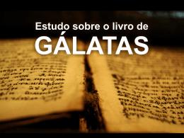 Estudo CCZS – Introdução Gálatas