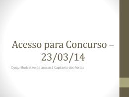Croqui - Concursos BioRio