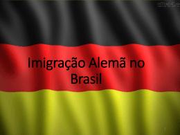 Imigração Alemã no Brasil