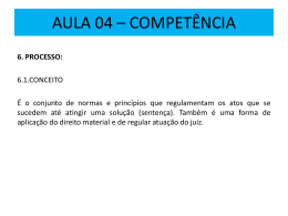 AULA 02 * COMPETÊNCIA