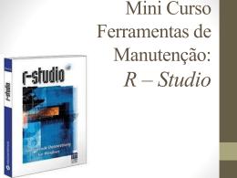 Mini Curso – Como usar o R-Studio