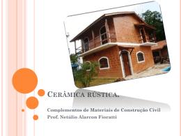 Slide 1 - Prof. Eng. MSc. Netúlio Alarcon Fioratti