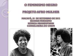 feminismo negro combate ao racismo.