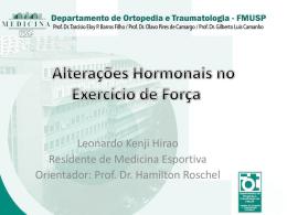 Alterações Hormonais no Exercício de Força