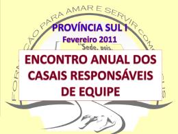 I-INTRODUÇÃO SUPER REGIÃO BRASIL