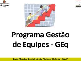 GEq M7 - Prefeitura de São Paulo