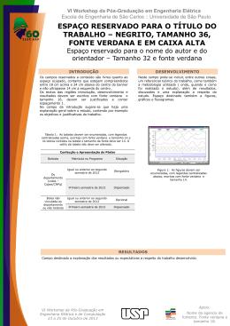 Baixar Modelo Oficial - SEL/EESC/USP