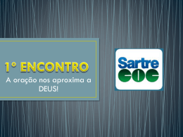 º Encontro - WordPress.com