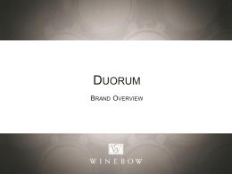 Duroum Brand Overview