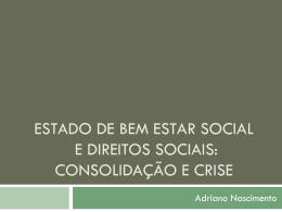 Aula Pós. Estado Regulador e Direitos Sociais