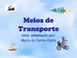 Webquest-Meios de Transporte