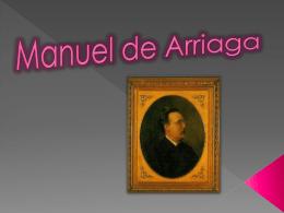 Manuel_de_Arriaga - Trabalhos