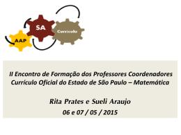 II ENCONTRO DE FORMAÇAO DOS PROFESSORES