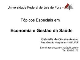 Organizações de Saúde por Gabrielle de Araújo