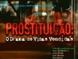 As Causas e Conseuqencias da Prostituição