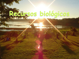 Recursos biológicos e Progressos Tecnológicos (2