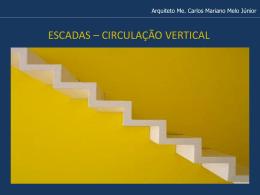 aula teórica escadas