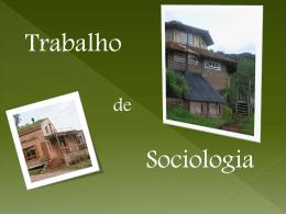 sociologia... ecovilas