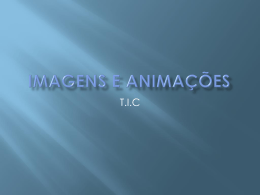 Imagens e Animações