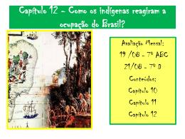 Como os indígenas reagiram a ocupação do Brasil?