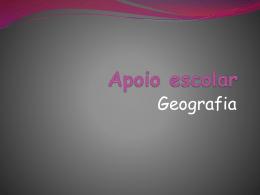 Apoio de geografia 9ºano