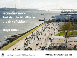 Promoting more Sustainable Mobility in the city of