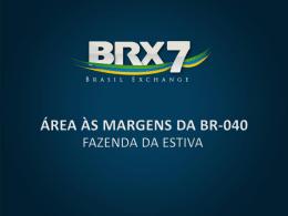 área às margens da br-040