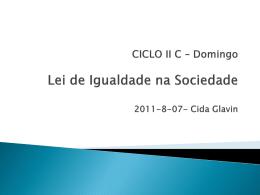 Lei de Igualdade na Sociedade (CidaG)