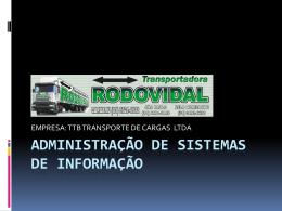 Sistema de informações 2003